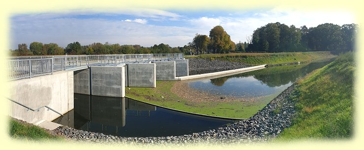 Ahsefluss-Düker im November 2020 - 2