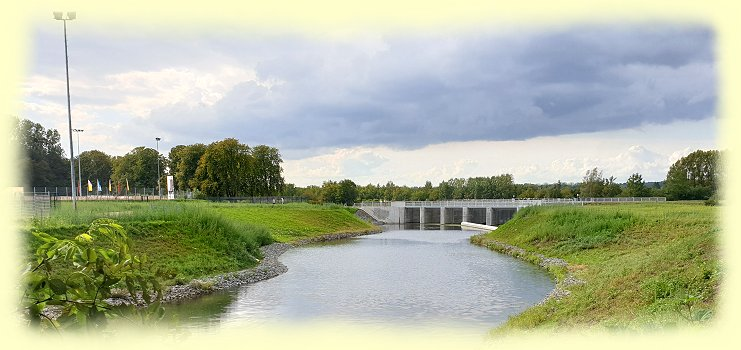 Ahsefluss-Düker im September 2020